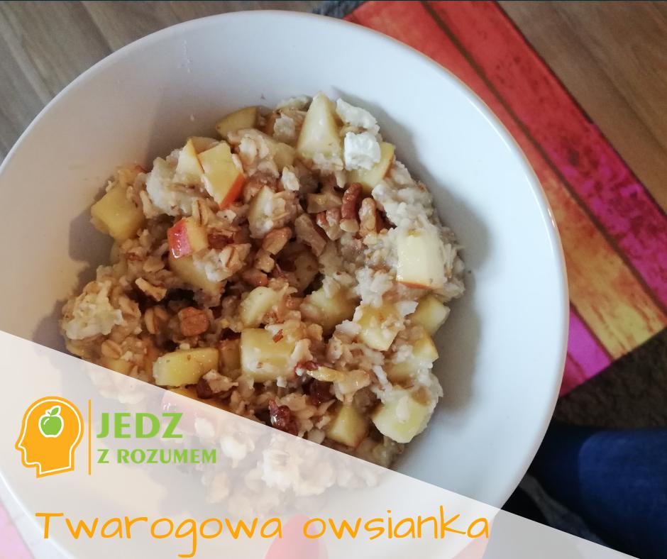 Twarogowa owsianka