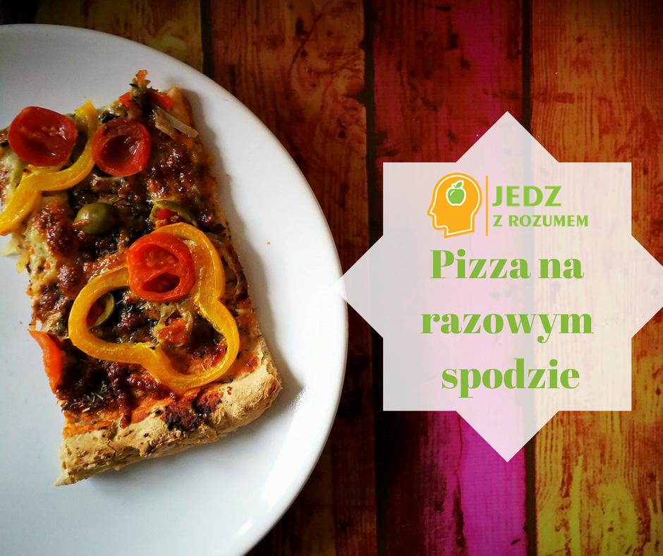 Pizza na razowym spodzie