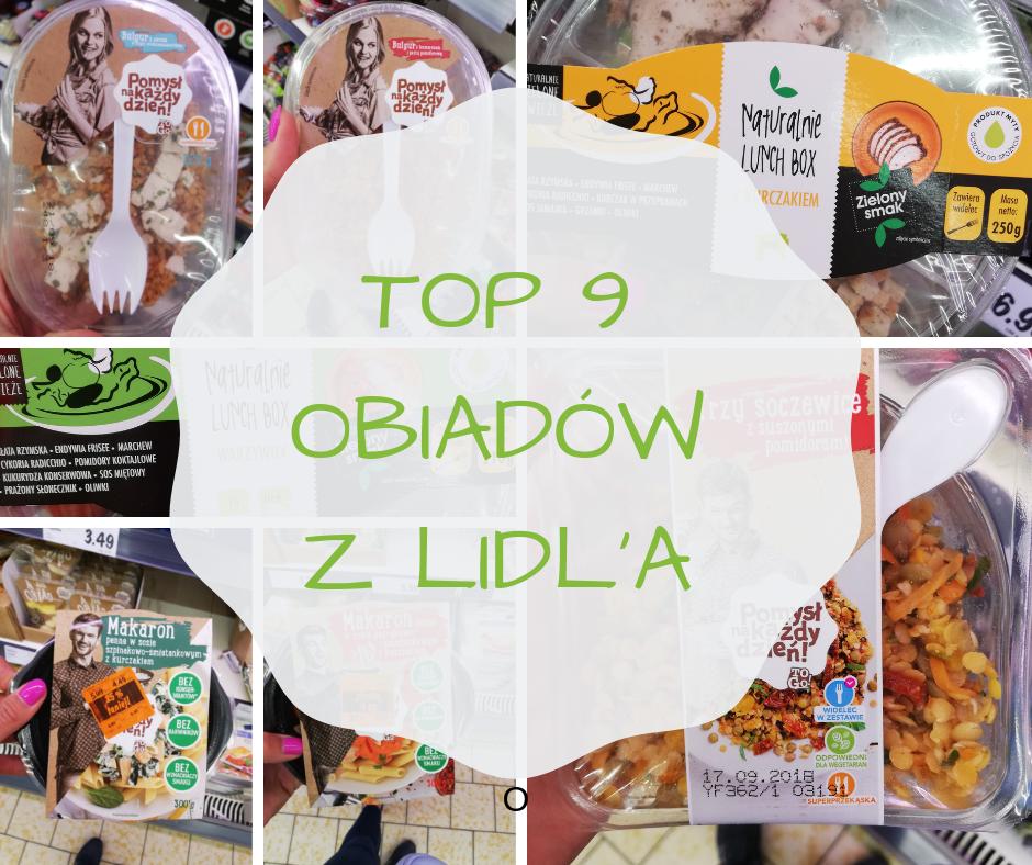 TOP 9 gotowych obiadów z LIDL'a