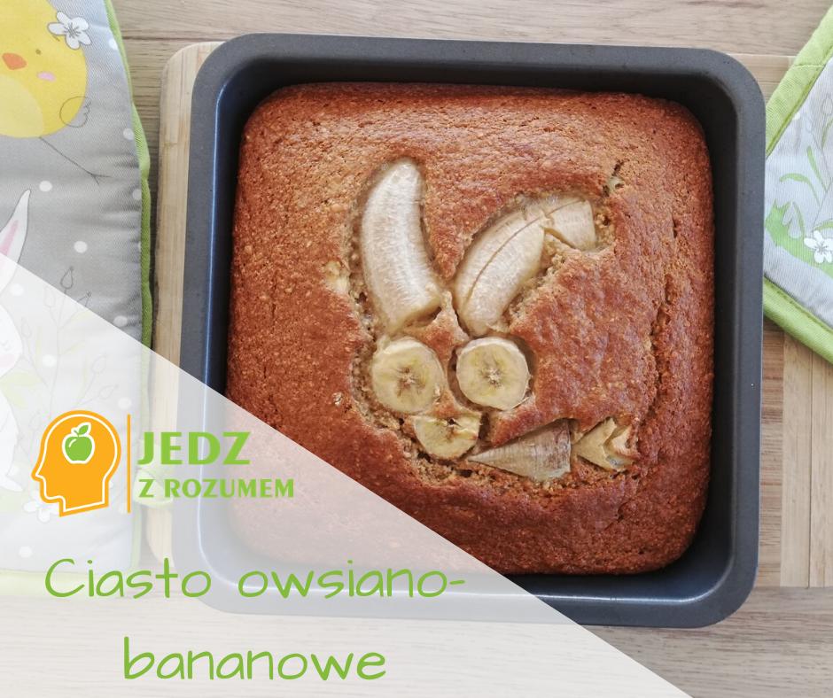 Ciasto owsiano-bananowe