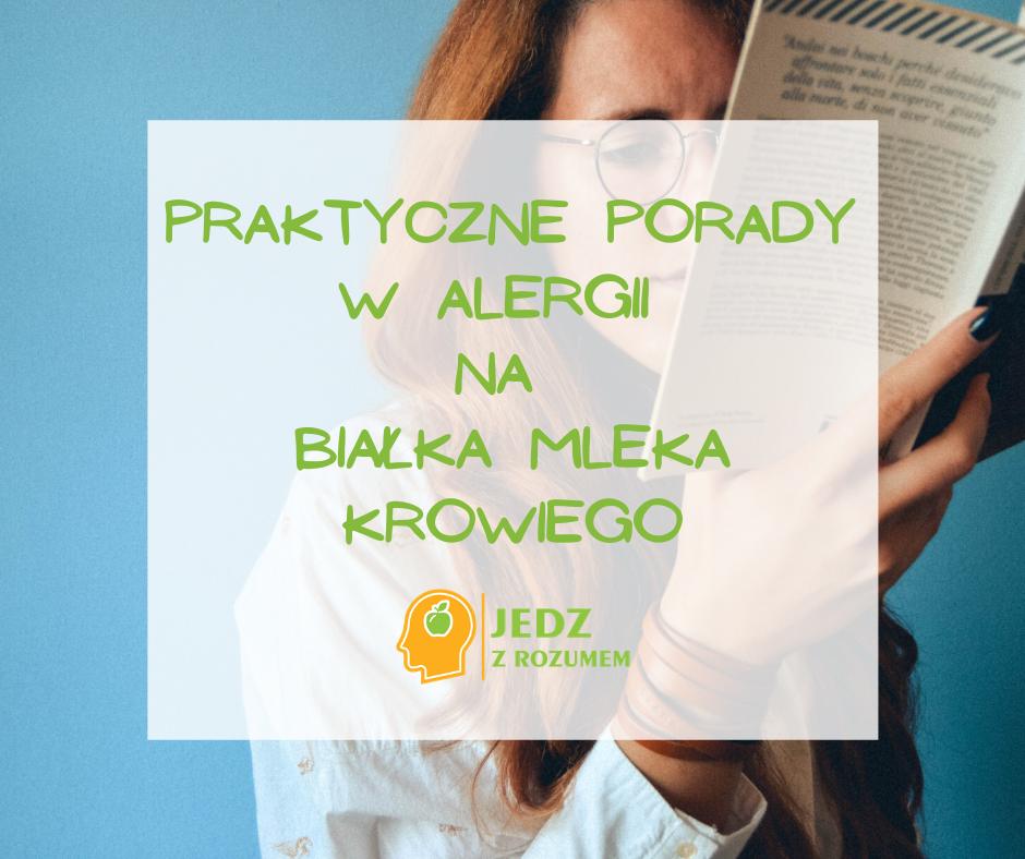Alergia na białka mleka krowiego – duży problem małych ludzi